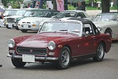 BCCM16038b (tanayan) Tags: park classic car nikon automobile meeting mg nagoya british midget j1    tsuruma