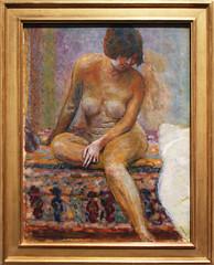 Pierre Bonnard - Seated Nude 1919 (ahisgett) Tags: new york art museum met metropolitian