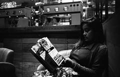 B. (Mambo Ferido) Tags: portrait blackandwhite film zeiss faces kodak trix wife 135 asa800 filmfeed placesandfaces leicaimages