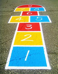 hopscotch (imposible?) Tags: hopscotch game rayuela children outdoor street