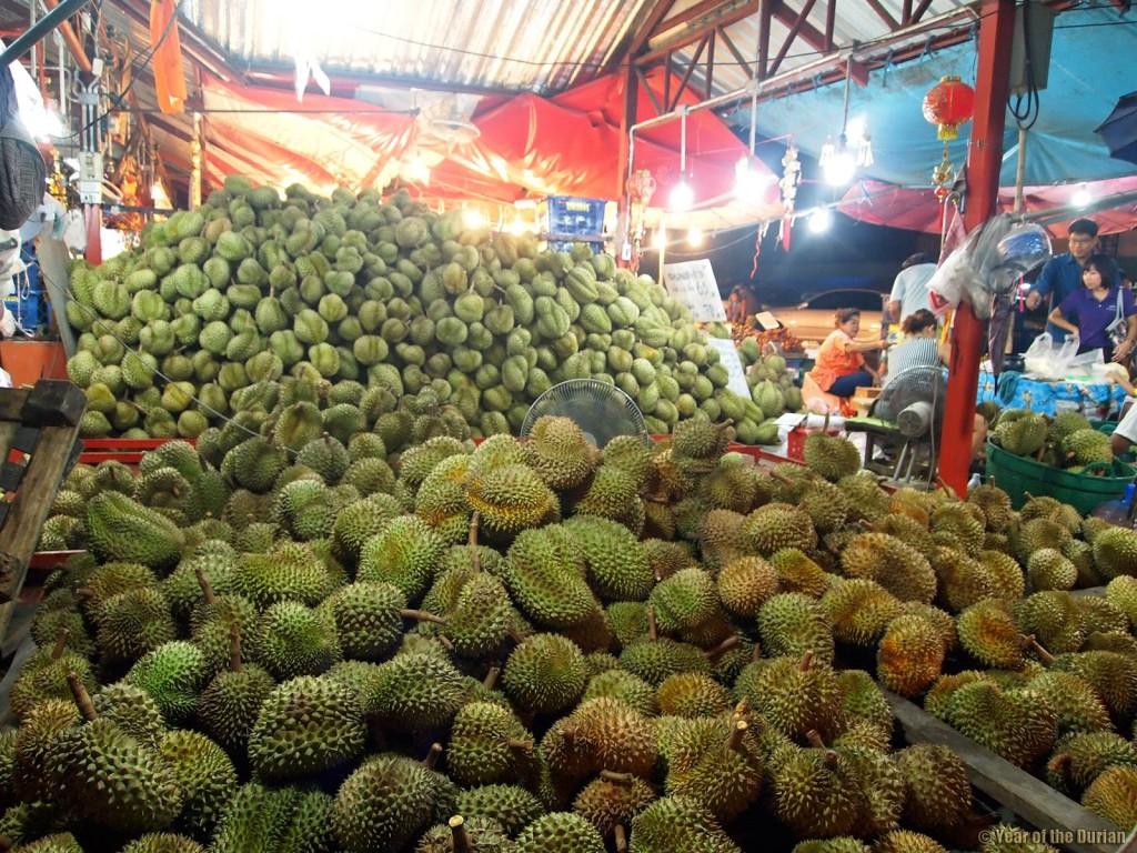 chợ thực phẩm Bangkok