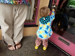Matt and Sam (quinn.anya) Tags: matt sam toddler giant door doorhandle arcata