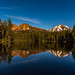 Reflection Lake in Golden Hour