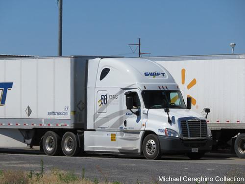 Swift Transportation 50th Anniversary Freightliner Cascadia