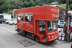 REO270L - Polperro Tram Co. (lazy south's travels) Tags: uk sea england english town milk seaside cornwall village britain side british float polperro milkfloat reo270l