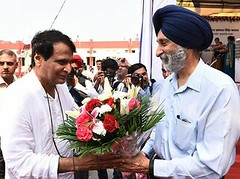 Construct a new railway link between Patti and Freozepur meeting - Akali Dal (3) (Shiromani Akali Dal) Tags: punjab development akalidal progressivepunjab