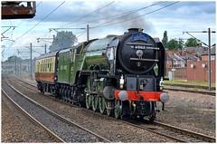 60163. Heading south . (Alan Burkwood) Tags: ecml retford lner peppercorn a1 60163 tornado steam locomotive yorknrmstewartslane