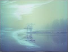 Diving tower2 (Maija Karisma) Tags: polaroid instant expired pola expiredfilm 669 peelapart polaroid180 littlebitbetterscan