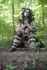Chill - Forsworn (The Elder Scrolls V: Skyrim) (DrosselTira) Tags: rosso orn skyrim cosplay cosplayer tes tesv elder scrolls v 5 tes5 madmen reach witch reather raven crow fur magic breton outfit costume dress