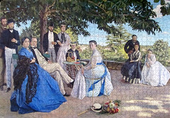 Family Reunion (pefkosmad) Tags: family people art painting pomegranate hobby puzzle leisure jigsaw familyreunion pastime 1000pieces frdricbazille