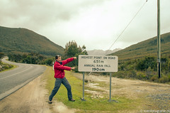 On the road to Strathgorden (Traveling together) Tags: travel australia backpack backpacker sven downunder reizen fida australi tasmani svenfotografienl