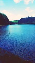 Entwistle reservoir (danielbarron2) Tags: trees river clearskies entwistle