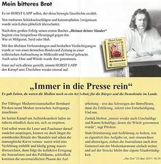 Horst Lapp 2 (ehem. Diether Petter) Tags: mein dietrich dieter horst brot urich petter diether kayser lapp wolfach schreibman bitteres