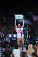 say anything (timp37) Tags: summer music shirt radio mouse drums zoo illinois eyes candles box band july mickey boom your brookfield nights 16 trick say tee anything sixteen zenith 2016