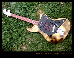 27whole (Harvester Guitars) Tags: metal neck aluminum guitar guitars australia melbourne luthier harvester wandre