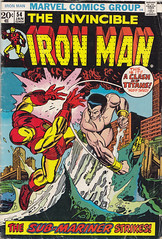 Iron Man 054 (micky the pixel) Tags: comics kirby comic ironman stan superhero marvel tonystark submariner heft superheld dereiserne leelarry lieberdon heckjack