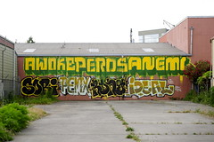 AWOKE, PEROS, ANEMAL, SORI, PEMX, RONG, IDEAL (STILSAYN) Tags: california graffiti oakland bay area be ideal sori rong gsf pemex awoke 2013 peros anemal