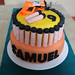 """Nerf Gun Cake for Samuel's Birthday by Mandalina Bakery in Farnborough • <a style=""""font-size:0.8em;"""" href=""""https://www.flickr.com/photos/68052606@N00/8730266247/"""" target=""""_blank"""">View on Flickr</a>"""
