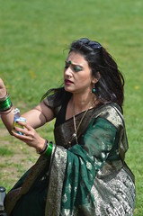 Boishakhi Mela London 2013 059 (sharkskin2) Tags: asian dancers indian mtv bollywood sari bengali bangladeshi boishakhimelalondon2013