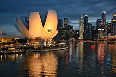 ArtScience Museum (chooyutshing) Tags: singapore marinabaysands artsciencemuseum matinabay