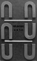 MLN080 (Chocolate Concepts) Tags: chocolate letters number numbers u letter mold