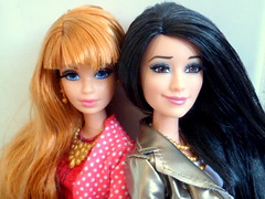 Midge & Raquelle (Akio_kun) Tags: life cute asian dolls barbie redhead midge dreamhouse raquelle