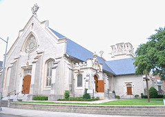 St. John's Episcopal Cathedral, (Victoria Lea B) Tags: church architecture cathedral florida jacksonville episcopal highvictoriangothic stjohnsepiscopalcathedral edwardtuckermanpotter