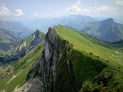 Rochers-de-Naye, Switzerland (PeterCH51) Tags: panorama mountains landscape switzerland scenery rocks day view swiss clear montreux iphone rochersdenaye prealps 5photosaday mywinners flickraward prealpine peterch51 flickrtravelaward prealpinescenery