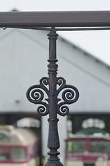 Handrail (PetrSk) Tags: detail czech pentax railway brno railwaystation historical