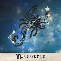 Scorpio (AzureBlu Photography) Tags: california sign stars greek sandiego symbol roman birth personality zodiac date poway month astrology constellation hubble traits