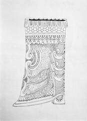 Boot (cobrinha) Tags: art pencil paper boot drawing draw dibujo linedrawing cobrinha