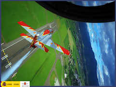 Patrulla Águila (Ejército del Aire Ministerio de Defensa España) Tags: aérea patrullaáguila exhibición casac101 acrobaciasaéreas academiageneraldelaire baseaéreadesanjavier