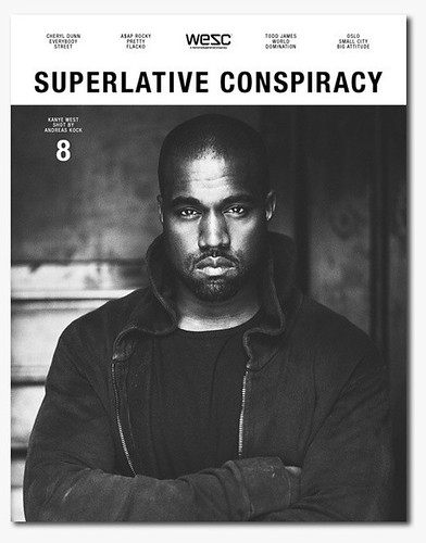 Kanye West Superlative Conspiracy cover