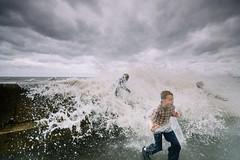 New Brighton #5 (petecarr) Tags: street new england kids brighton waves photograph promenade