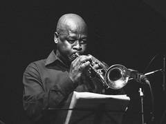 The Artist II (Milo R.) Tags: blackandwhite concert trumpet jazz instrument feya faku feyafaku