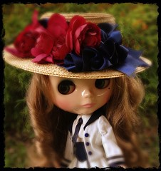 Quinn loving her hat By Cindy Sowers