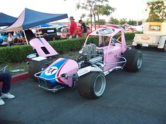 Pink Lady (Bob the Real Deal) Tags: ontario oregon racecar 98 special fresno sprintcar pinklady kodakz712 eastsidecafelounge