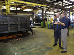9-20-13 Governor Bentley Visits Fayette, Al as part of Road to Economic Recovery Tour
