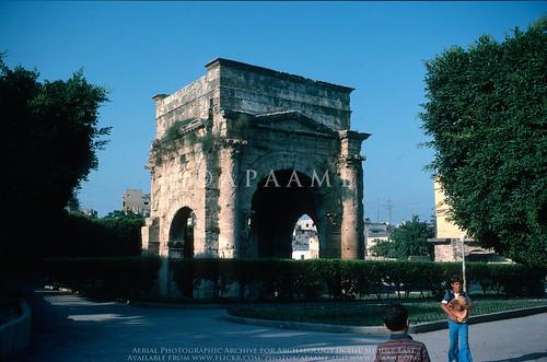 Laodicea ad Mare (Latakia) - Arch of Septimius Severus