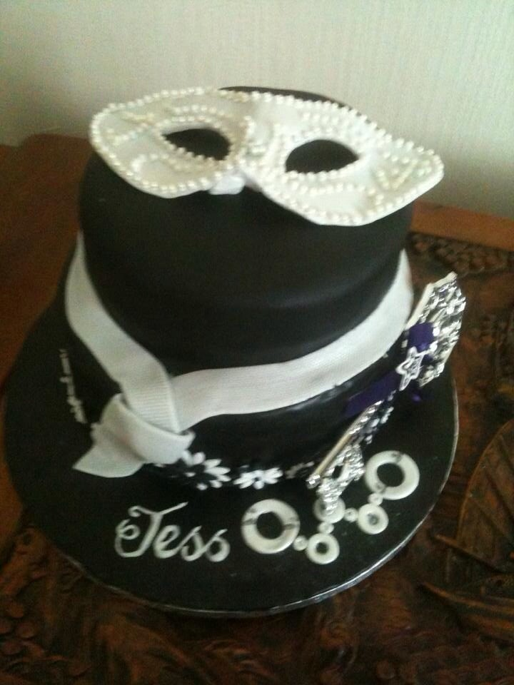 Handcuffs In Icing On Cake