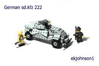 German sd.kfz 222