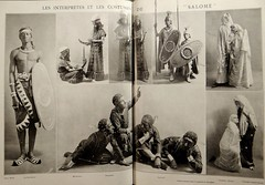 "Performers in Oscar Wilde's ""Salome."" Photos by Walery in Comoedia Illustre (July 1, 1912) (lhboudreau) Tags: ballet music paris musicians magazine french theater dancing theatre oscarwilde journal dancer danse soldiers salome players russian performers slaves ballets executioner dansers russianballet jewishwomen leonbakst walery balletrusse balletsrusses comoediaillustre tragedyofsalome"
