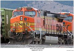 BNSF Dash 9-44CW 4550 (Robert W. Thomson) Tags: railroad train montana diesel railway trains locomotive helena trainengine ge bnsf dash944cw burlingtonnorthernsantafe dash9 c449w sixaxle