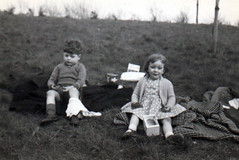 Image titled Andy and Christine 1950s