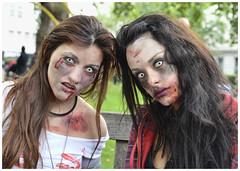World Zombie Day 2013 298 (sharkskin2) Tags: girls sexy london lesbian blood kiss darkness skin zombie clown spice makeup lick piercing gore latex joker hanging angelina jolie drama walkingdead dawnofthedead suspention worldzombieday2013