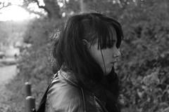 Leather Jacket Symphony Nr. 9 (cMonk3y) Tags: woman girl leather metal 9 jacket frau symphony mdchen leder jacke metalhead symphonie lederjacke