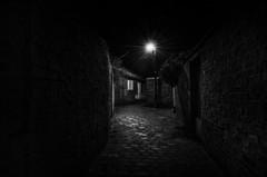 Dark Streets 4 (jactoll) Tags: bw white black mono nikon victorian warwickshire alcester darkstreets d7000 jactoll