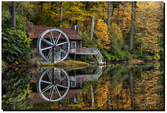 Fall in Cashiers, North Carolina (jeannie'spix) Tags: reflection fall northcarolina cashiers highhamptoninn