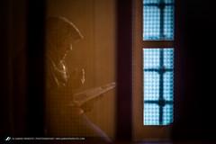 Faith and love (sabino.parente) Tags: love fence fuji blu muslim faith mother istanbul mosque hidden moment prayers islamic xe1 sabinoparente