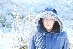 La luz de mis ojos (Estéfani Carro { Fani }) Tags: retrato nieve noviembre frio 2013 canoneos600d estéfanicarro